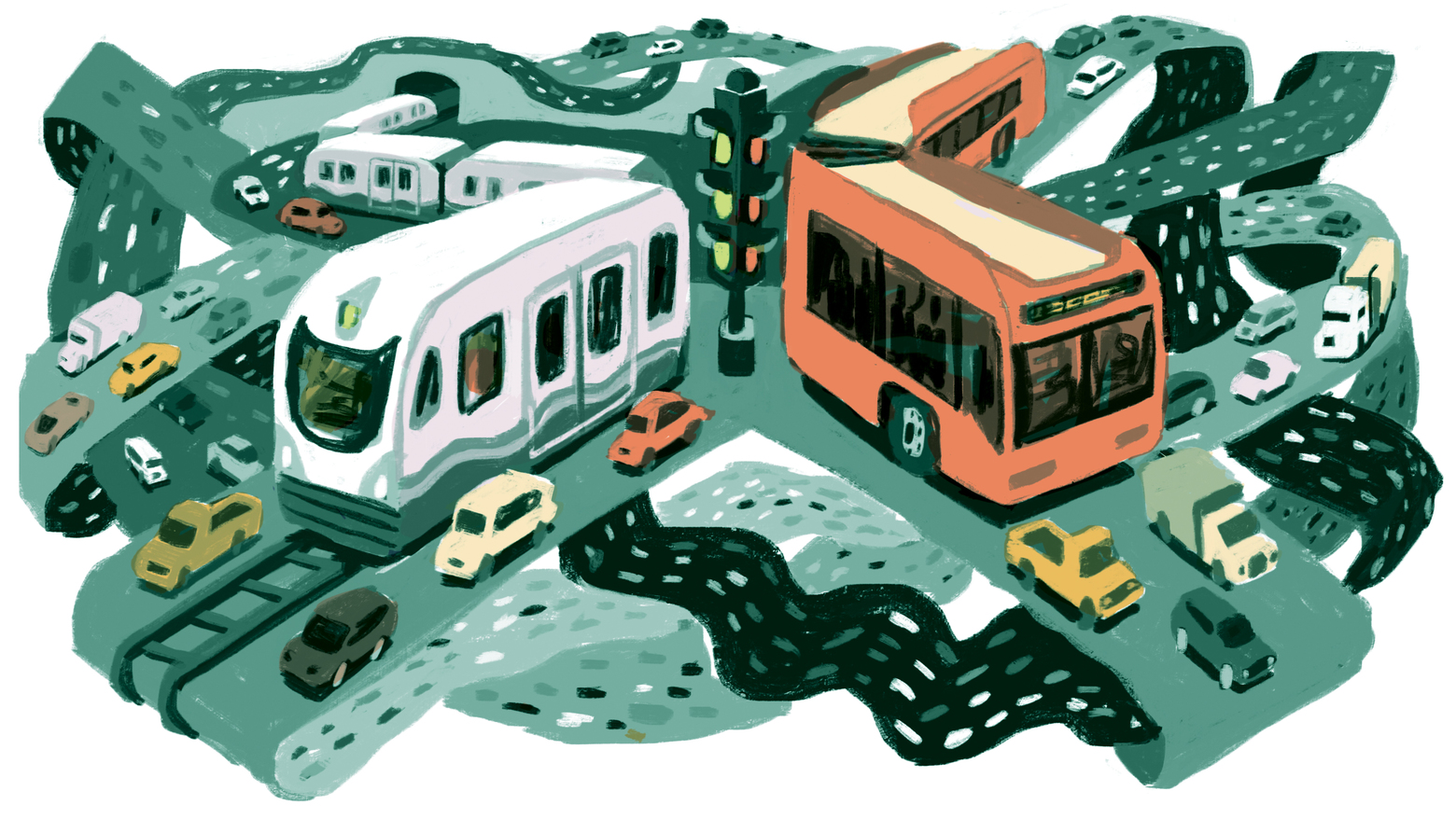 Seattle Times illustration