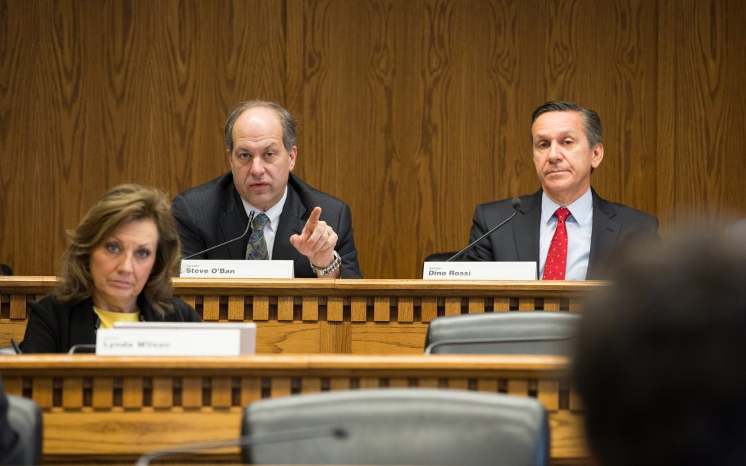 O'Ban, Rossi call for investigatory hearings on Sound Transit