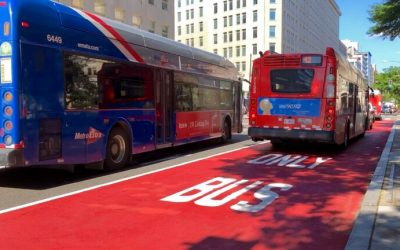 Washington Post: D.C.'s first downtown bus lanes in decades debut Monday