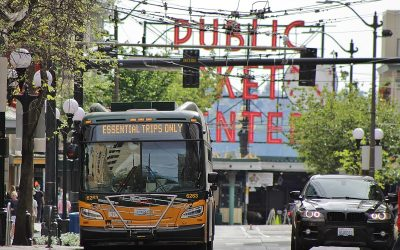 "Taking a big hit to ridership, King County Metro sees COVID-19 recovery as opportunity to ""reset"""