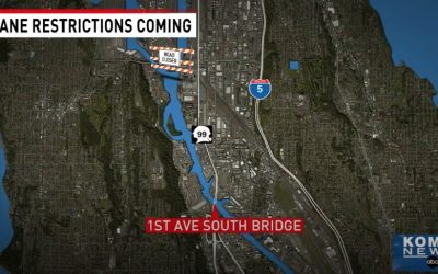 KOMO News: First Avenue South Bridge to be repaired, causing longer commutes in West Seattle
